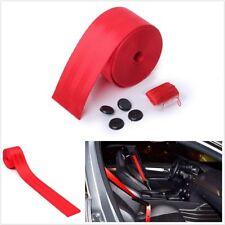 4.8x360CM ROT Einziehbar Auto Sicherheitssitz Beckengurt 3 Bolt Point Polyester