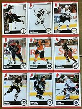 2010-11 SCORE GLOSSY PARALLELS 9 CARD LOT—43,171,180,216,362,374,389,428,453