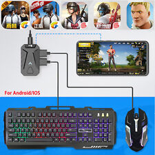 Gaming Keyboard Mouse Adapter Converter for Android IOS iphone Mobile PUBG Games