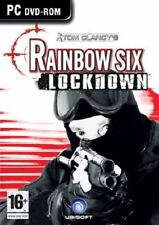 Tom Clancy's Rainbow Six: Lockdown, PC DVD-Rom Game.