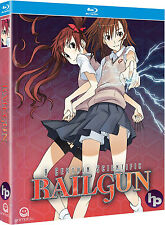 A Certain Scientific Railgun . The Complete Season 1 . Anime . 3 Blu-ray . NEU