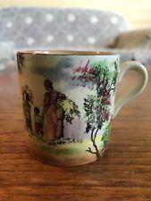 "Vintage Royal Doulton Old English Scenes ""The Gleaners"" D4983 Miniature Mug"