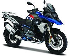 Motorrad Modell 1:18 BMW R 1200 GS Farbe: schwarz blau von Maisto