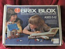 Vintage Brix Blox Construction Set (Little Learners/Sears)