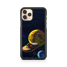 Extraterrestrial UFO Alien Spaceship Planets Star Cluster Space Phone Case Cover