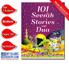 101 Seerah Stories and Dua Muslim Islamic Children Kids Book Best Gift Ideas