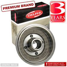 Vauxhall Vectra ->02 2.0 Di Di SLN DI 81 Rear Brake Drum Single 230mm
