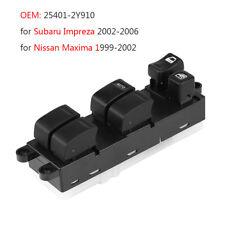 254012Y910 Master Electric Window Switch For Impreza Nissan Maxima 99-06