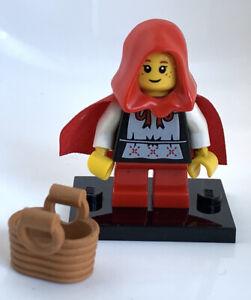 LEGO Grandma Visitor / Red Riding Hood Minifigure - Series 7 - Complete