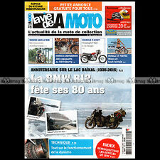 LA VIE DE LA MOTO LVM N°820 TRIUMPH T160 TRIDENT 1975-1976 BMW R1 CYCLOS BENELLI