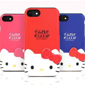 Genuine Hello Kitty Deco Double Bumper Case iPhone 7 Case iPhone 7 Plus Case