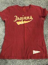 Usc Trojans Ladies Banner Supply Shirt Size Large