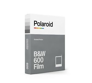 Polaroid Black and White (B&W) Instant Film for use with 600 Cameras - Brand-new