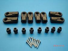 Orig. Lauterbacher Kugelpfannen-Set schwarz f. Gewinde M6/M8 f. RC-Cars 1/5 1/6