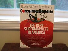 """May 2015"" New CONSUMER REPORTS MAGAZINE ~The Best Supermarkets In America~"
