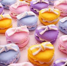 Miniature Dollhouse Heart Macaroon Re-ment Garden Fairy Bonsai Decor Craft 1pc @