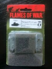 A92 - Flames of War (Fow) - French Renault Ft 17 (gun or Mg) (2 Tanks!) Oop!