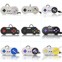 SNES Retro USB Super Nintendo Classic Controller Gamepad for Windows PC MAC