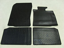 BMW Mini Countryman 2010-16 Fully Tailored Deluxe RUBBER Car Mats in Black