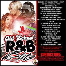 CLASSIC OLD SCHOOL R&B BLITZ  THROWBACK MIX CD VOLUME 3