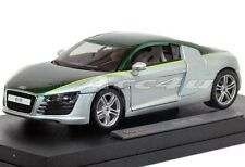 """Green Silver Audi R8 Need For Speed Undercover 1/18 Diecast Model Car. Approx 9"""""""