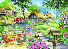 La maison des puzzles 500 Big Piece Jigsaw Puzzle-Country Living Big PIECES