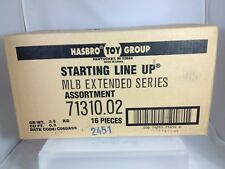 1998 MLB Extended Baseball Starting Lineup Sealed Case #71310.02 Rare (16 Figs)