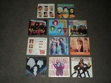 BANANARAMA - 11 SINGLES w/ PICTURE SLEEVES