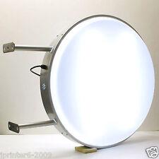 """LED Outdoor 2-Sided Round illuminated Blank Light box 70cm 27.5"""""""