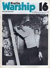 Warship Profile 16 RN SS HMS Upholder (Profile 1972 1st) MLC Crawford