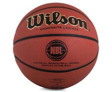 Wilson NBL Replica Game Ball #7 Official Size Basketball - Orange