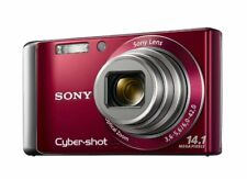 Sony DSC-W370 14.1MP with 7x Wide Angle Zoom  (Red)