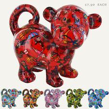 POMME-PIDOU Bubbles the Monkey Colourful Ceramic Money Boxes