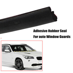 4M Auto SUV Front Windshield Window Edge Trim Rubber Seal Weatherstrip Protector