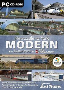 Newcastle To York Modern - for RailWorks & Rail Simulator, PC CD-Rom