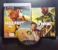 Max Payne 3 (Sony PlayStation 3, 2012) PS3 - FREE POSTAGE