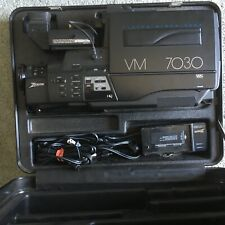 Zenith Vm7030 Vhs Video Camera Bundle In Case With Cables Charger