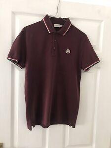 Moncler Piqué Polo Shirt SMALL