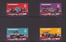 Channel islands, Guernsey, British Formula 1, 2011, Set of 4, mint