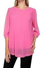 Lockre Sitzende Damenblusen,-Tops & -Shirts mit Rundhals für Party ohne Mehrstückpackung
