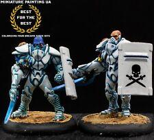 ⭐️ WH40K Necromunda Painted Adeptus Arbites Urban War Colonial Shock Marines