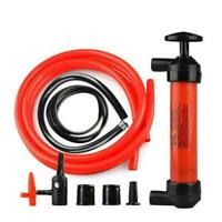 Multifunctional Inflatable Siphon Pump Car Manual Fuel Oil Transfer Kit Gas I0B1