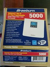 Braeburn thermostat Universal 7 day or 5-2 day Programmable