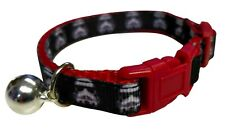 Spoilt Rotten Pets Quality Storm Trooper Cat Collar.Star Wars Buckle & Bell