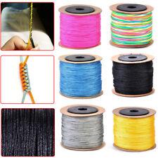 100M Chinese Nylon Knot Cord Rattail Macrame Shamballa Thread String Thread