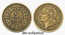 5 Francs 1945. Lavrillier. France. Bronze-Alu
