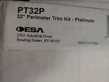 """PT32P Platinum perimeter trim kit Desa FMI Comfort Glow Superior fireplace 32"""""""