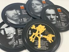 More details for u2, 5 coasters in a tin. popsters. joshua tree, rattle and hum