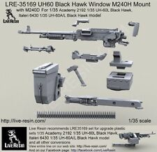 Live Resin 1/35 LRE-35169 UH60 Black Hawk Window M240H Mount