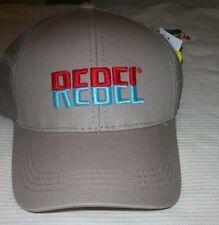 REBEL Lure Fishing Hat Khaki Trucker Cap, CAP-REB-MB